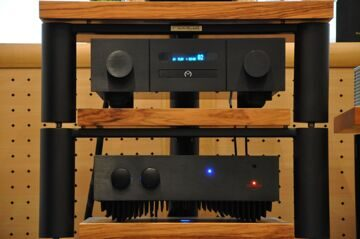 REDGUM Black Series RGi60ENR и MIMETISM CD Player 20.1